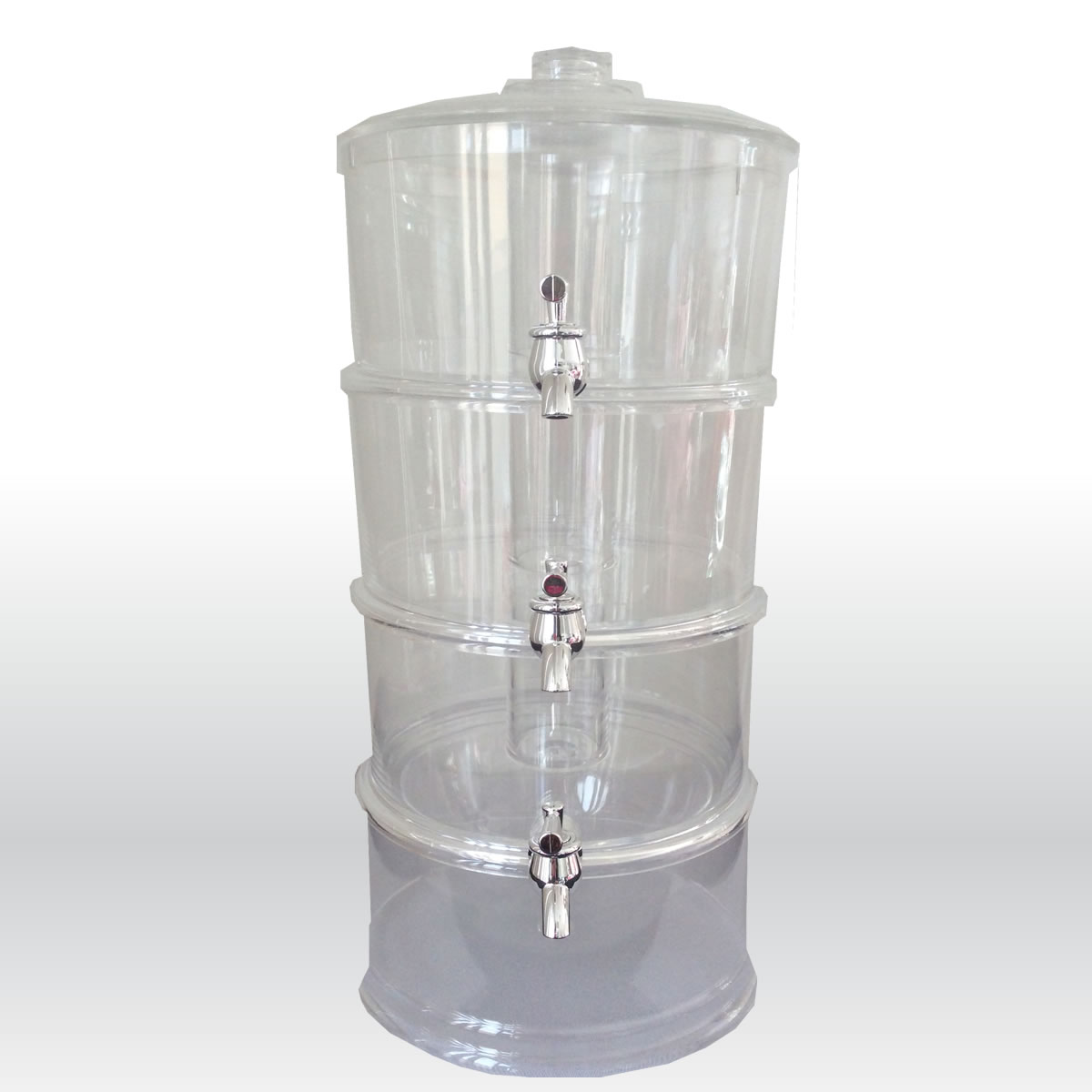 3 Tier Beverage Dispenser 3-Tier Beverage Dispenser - The Party Centre