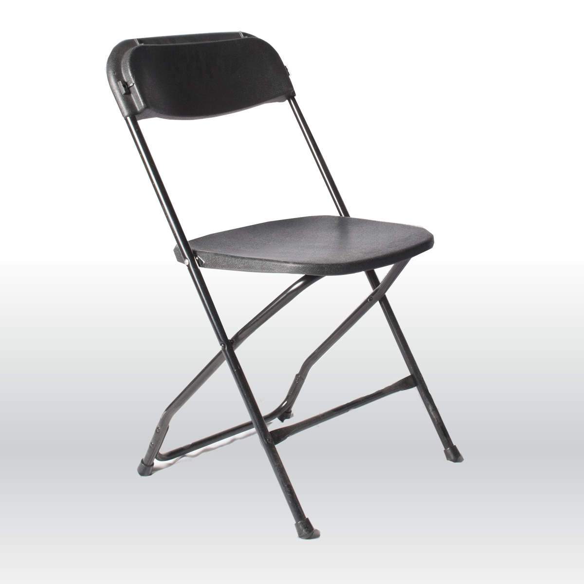 Black Folding Chair The Party Centre