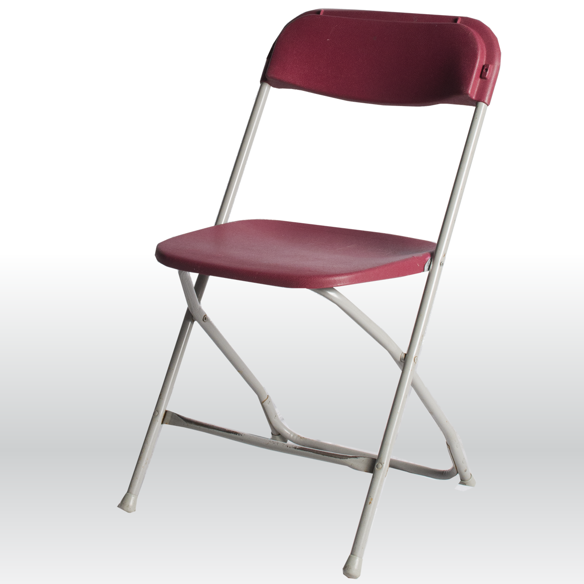 Burgundy Folding Chair The Party Centre