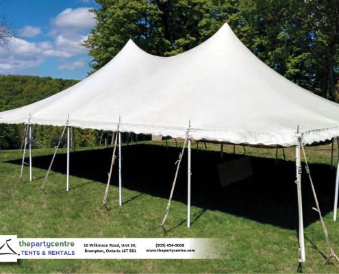 20x40 Pole Tent Rentals