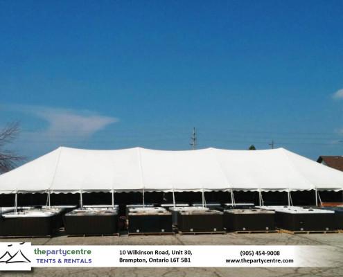 40x120 Pole Tent Rentals