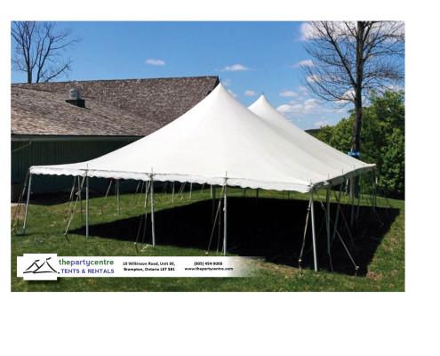 30x45 Pole Tent Rentals
