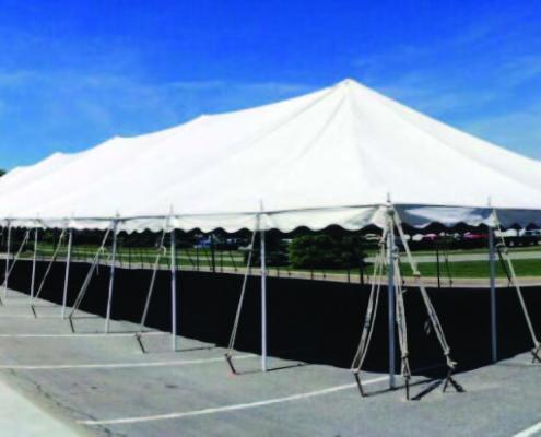 40x20 Pole Tent Rentals