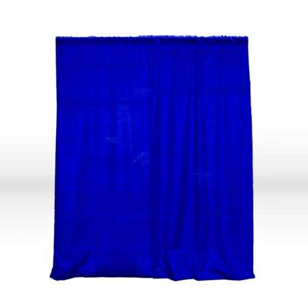 Blue backdrop for weddings