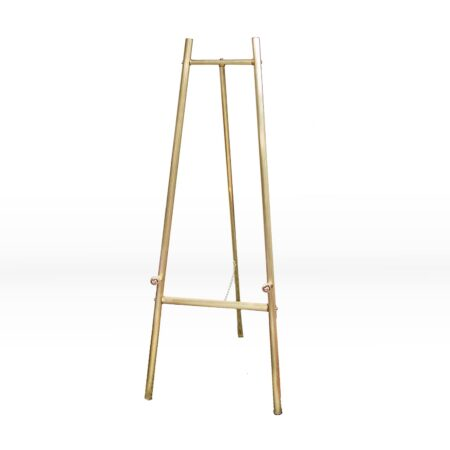Small gold easel