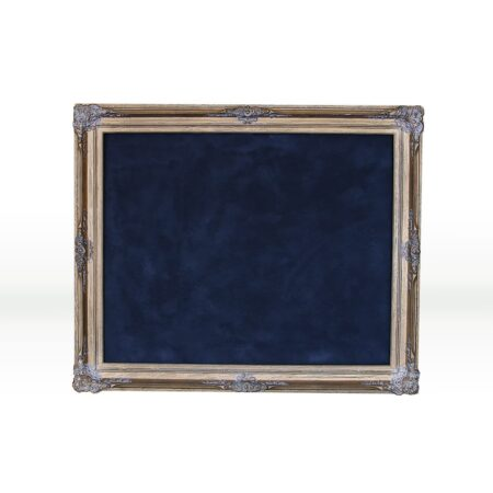 Chalkboard with gold frame