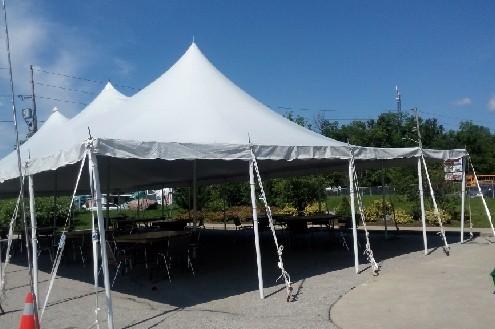 40x80 Pole Tent Rentals