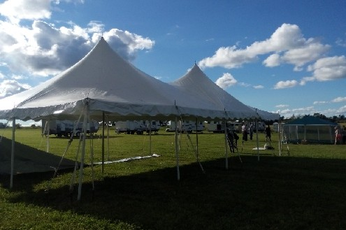 20x45 Pole Tent Rentals