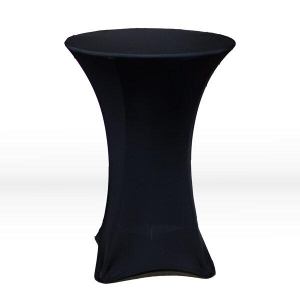 Black Spandex Table Cloth